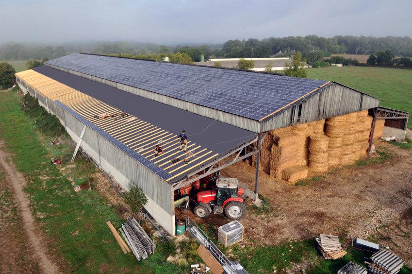 Qu'est-ce qu'un hangar photovoltaïque
